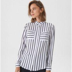Koszula w paski - Biały. Białe koszule damskie House, w paski. Za 59.99 zł.