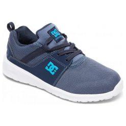 DC Tenisówki Chłopięce Heathrow B Shoe Xbbb Blue/Blue/Blue 37. Niebieskie trampki i tenisówki chłopięce DC, sportowe. W wyprzedaży za 169.00 zł.