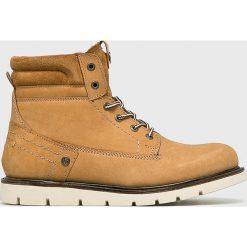 Wrangler - Buty Tucson. Brązowe buty sportowe męskie Wrangler, z materiału. Za 449.90 zł.