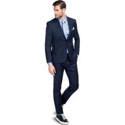 Garnitur LEONARDO GXNS900085. Niebieskie garnitury męskie Giacomo Conti, z wełny. Za 1,498.00 zł.