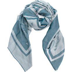 Szal PATRIZIA PEPE - 2V8420/A1TH-I2YL White/Blue. Szare szaliki i chusty damskie marki Giacomo Conti, na zimę, z tkaniny. W wyprzedaży za 409.00 zł.