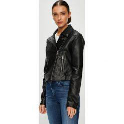 Pepe Jeans - Kurtka Jessie. Czarne kurtki damskie Pepe Jeans, z jeansu. W wyprzedaży za 399.90 zł.