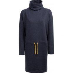 Sukienka damska SUDD601 - denim melanż - Outhorn. Czarne sukienki damskie Outhorn, melanż, z denimu. W wyprzedaży za 69.99 zł.