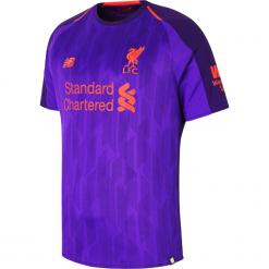 Koszulka Liverpool Away - MT830019DV. Niebieskie koszulki sportowe męskie New Balance, na jesień, z jersey. Za 299.99 zł.