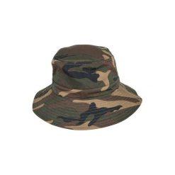 Kapelusz Steppe 100 camo. Brązowe czapki i kapelusze damskie SOLOGNAC. Za 29.99 zł.