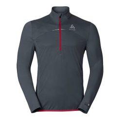 Odlo Bluza męska Midlayer logic Zeroweight szara r. XL (347772). Bluzy sportowe męskie marki KALENJI. Za 271.16 zł.