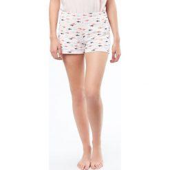 Etam - Szorty piżamowe Jemmy. Szare piżamy damskie Etam, z bawełny. W wyprzedaży za 34.90 zł.