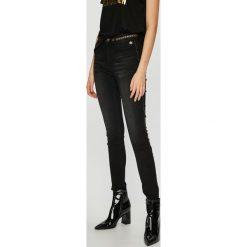 Desigual - Jeansy Gewn. Czarne jeansy damskie Desigual. Za 399.90 zł.
