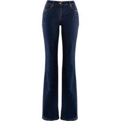 """Dżinsy """"authentic-stretch"""" BOOTCUT bonprix niebieski. Jeansy damskie marki bonprix. Za 79.99 zł."""