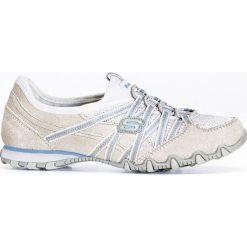 Buty wsuwane z pianką youfoam bonprix biało niebieski