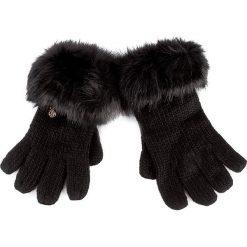 Rękawiczki Damskie TRUSSARDI JEANS - Gloves Knitted 59Z00006 L K299. Czarne rękawiczki damskie TRUSSARDI JEANS, z jeansu. W wyprzedaży za 179.00 zł.