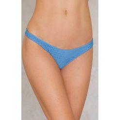Hot Anatomy Dół bikini Wrinkled - Blue. Niebieskie bikini damskie Hot Anatomy. Za 64.95 zł.