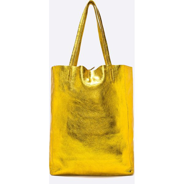 d875d10775c23 Answear - Torebka skórzana Violet Kiss - Pomarańczowe torebki shopper  damskie marki ANSWEAR, z materiału. W wyprzedaży za 169.90 zł.