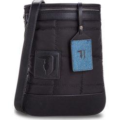 Saszetka TRUSSARDI JEANS - Ticinese 71B00102 K299. Czarne saszetki męskie TRUSSARDI JEANS, z jeansu, młodzieżowe. W wyprzedaży za 339.00 zł.