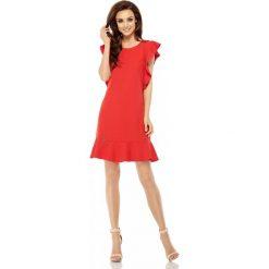 Sukienka z falbankami l248. Czarne sukienki dla dziewczynek Lemoniade, wizytowe. W wyprzedaży za 119.00 zł.
