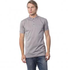 Koszulka polo w kolorze szarym. Szare koszulki polo męskie Roberto Cavalli, Trussardi, z haftami. W wyprzedaży za 319.95 zł.