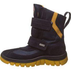 """Kozaki zimowe """"Ceri"""" w kolorze granatowym. Buty zimowe chłopięce marki Geox. W wyprzedaży za 215.95 zł."""