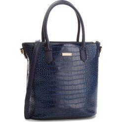 Torebka JENNY FAIRY - RC15134 Navy. Niebieskie torebki do ręki damskie Jenny Fairy, ze skóry ekologicznej. Za 99.99 zł.