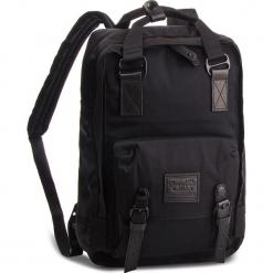 Plecak DOUGHNUT - D010B-0003-F Macaroon Black/Series Black. Czarne plecaki damskie Doughnut, z materiału. W wyprzedaży za 259.00 zł.