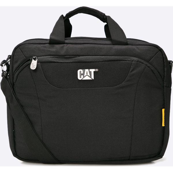60593d487e63f Caterpillar - Torba Mess - Czarne torby na laptopa męskie marki ...