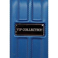 VIP COLLECTION - Walizka 12 L. Szare walizki męskie VIP COLLECTION, z materiału. W wyprzedaży za 119.90 zł.