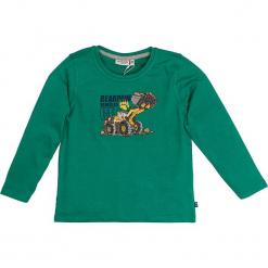 """Koszulka """"Bagger"""" w kolorze zielonym. T-shirty dla chłopców marki Reserved. W wyprzedaży za 42.95 zł."""