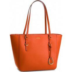 Torebka LAUREN RALPH LAUREN - Bennington 431687508010 Orange. Brązowe torebki do ręki damskie Lauren Ralph Lauren, ze skóry. Za 999.00 zł.