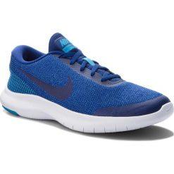Buty NIKE - Flex Experience Rn 7 908985 403 Deep Royal Blue/Blue Hero. Niebieskie buty sportowe męskie Nike, z materiału. W wyprzedaży za 219.00 zł.