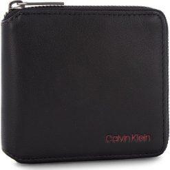 Duży Portfel Męski CALVIN KLEIN - Double Edge Square Z K50K503996 910. Czarne portfele męskie Calvin Klein, ze skóry ekologicznej. Za 299.00 zł.