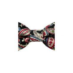 Mucha gotowa bowstyle. Brązowe krawaty i muchy Bowstyle, z tkaniny. Za 75.00 zł.