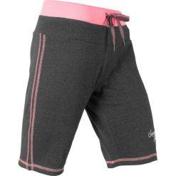 Szorty dresowe bonprix antracytowy - jasnoróżowy neonowy  melanż. Spodnie dresowe damskie marki KIPSTA. Za 54.99 zł.