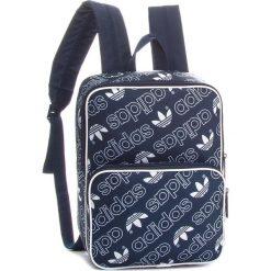 Plecak adidas - DH3365  Convay/White. Niebieskie plecaki damskie Adidas, z materiału, sportowe. W wyprzedaży za 119.00 zł.