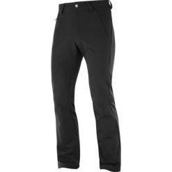 Salomon Spodnie Softshellowe Męskie Wayfarer Warm Pant M Black 50/R. Czarne spodnie sportowe męskie Salomon. Za 375.00 zł.