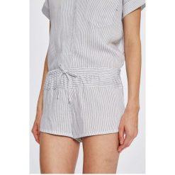 Calvin Klein Underwear - Szorty piżamowe. Szare piżamy damskie Calvin Klein Underwear, z materiału. W wyprzedaży za 99.90 zł.
