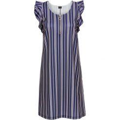 Sukienka z zamkiem bonprix ciemnoniebieski w paski. Sukienki damskie marki MAKE ME BIO. Za 59.99 zł.