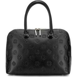 Torebka damska 87-4E-421-1. Czarne torebki do ręki damskie Wittchen, w paski. Za 659.00 zł.