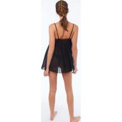 Etam - Koszulka piżamowa Margaret. Szare piżamy damskie Etam, z elastanu. W wyprzedaży za 129.90 zł.