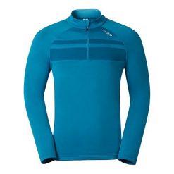 Odlo Bluza Odlo Midlayer 1/2 zip TAHOE VISTA kolor niebieski, roz. L (222092 - 222092L). Bluzy męskie Odlo. Za 118.98 zł.
