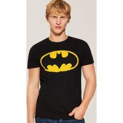 T-shirt Batman - Czarny. T-shirty męskie marki Giacomo Conti. Za 49.99 zł.