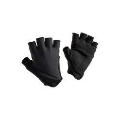 Rękawiczki na rower ROADR 500. Czarne rękawiczki damskie B'TWIN, z materiału. Za 29.99 zł.