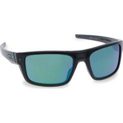 Okulary przeciwsłoneczne OAKLEY - Drop Point OO9367-0460 Black Ink/Jade Iridium. Czarne okulary przeciwsłoneczne męskie Oakley, z tworzywa sztucznego. W wyprzedaży za 479.00 zł.
