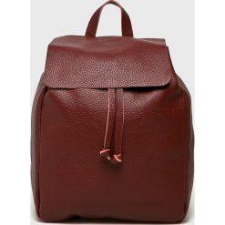Answear - Plecak Stripes Vibes. Brązowe plecaki damskie ANSWEAR. W wyprzedaży za 199.90 zł.