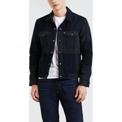 """Dżinsowa kurtka """"Wool Trucker"""" w kolorze granatowym. Niebieskie kurtki męskie Levi's. W wyprzedaży za 208.95 zł."""