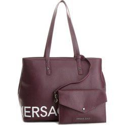 Torebka VERSACE JEANS - E1VSBBB1 70709 331. Czerwone torebki do ręki damskie Versace Jeans, z jeansu. W wyprzedaży za 489.00 zł.