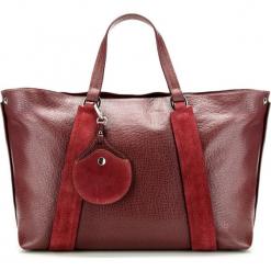 Torebka damska 85-4E-014-2. Czerwone torebki do ręki damskie Wittchen, w paski. Za 575.00 zł.