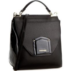 Torebka MONNARI - BAGA530-M20 Black With Black Lacquer. Czarne torebki do ręki damskie Monnari, ze skóry ekologicznej. W wyprzedaży za 159.00 zł.