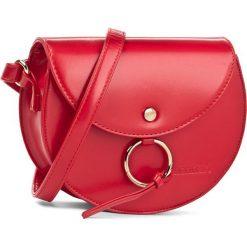 Torebka MONNARI - BAG0610-005 Red. Czerwone listonoszki damskie Monnari, ze skóry ekologicznej. W wyprzedaży za 99.00 zł.