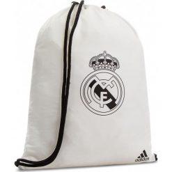 Plecak adidas - Real Gb CY5608 Cwhite/Black. Białe plecaki damskie Adidas, z materiału, sportowe. Za 69.95 zł.