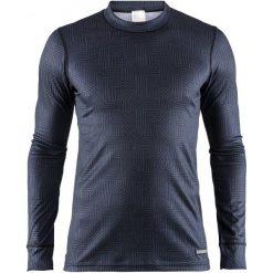 Craft Koszulka Funkcjonalna Męska Mix And Match Czarno-Ciemnoniebieska S. Czarne koszulki sportowe męskie Craft, z długim rękawem. Za 99.00 zł.