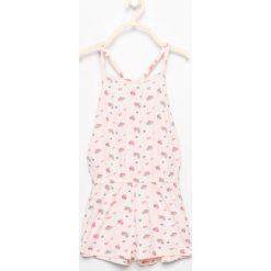 Piżama kombinezon w kwiatki - Różowy. Bielizna dla chłopców Reserved, w kwiaty. W wyprzedaży za 14.99 zł.
